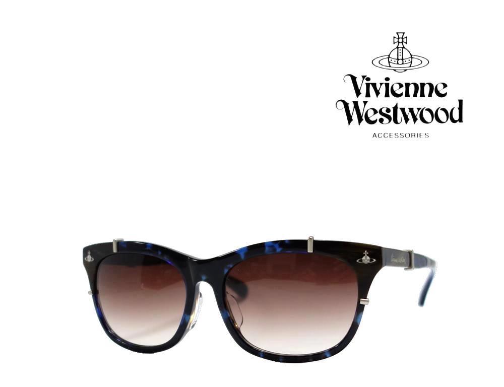 送料無料【Vivienne Westwood】ヴィヴィアン ウエストウッド  サングラス  VW-9714  BL  ブルーブラウンデミ