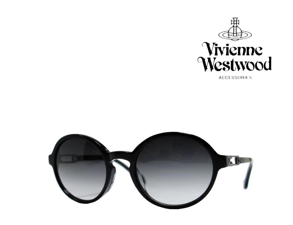 送料無料【Vivienne Westwood】ヴィヴィアン ウエストウッド  サングラス  VW-7763  BK  ブラック 《数量限定特価品》