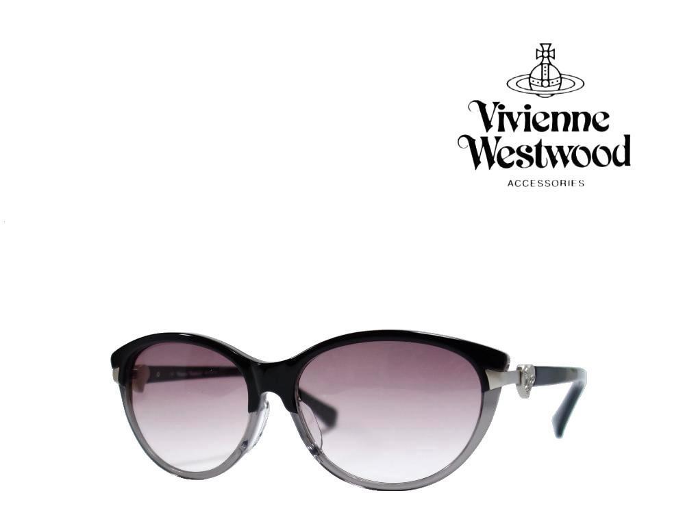 送料無料【Vivienne Westwood】ヴィヴィアン ウエストウッド  サングラス  VW-7766  BC  ブラック・クリアグレー