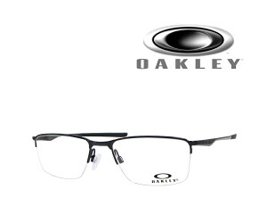 【OAKLEY】 オークリー メガネフレーム ソケット5.5 SOCKET5.5 OX3218-0156 ポリシュドブラック 国内正規品