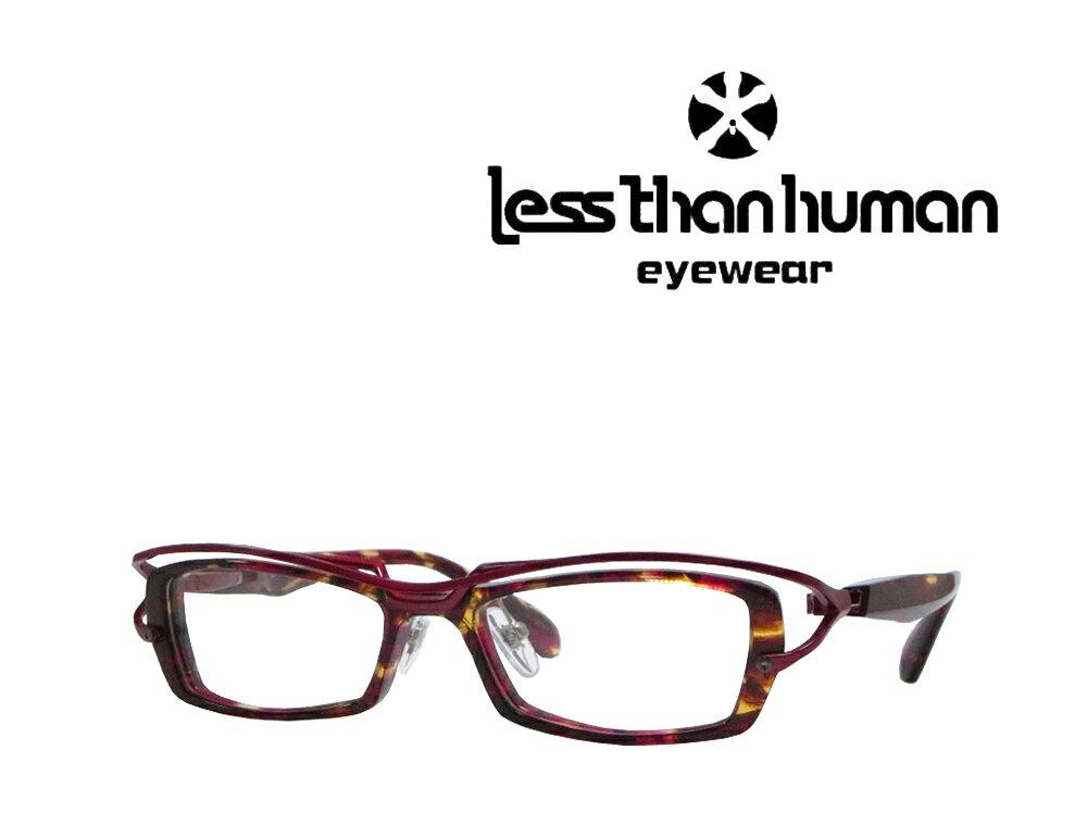 送料無料 【LESS THAN HUMAN】レスザン ヒューマン メガネフレーム Panchira-06   2101   レッドメタリック