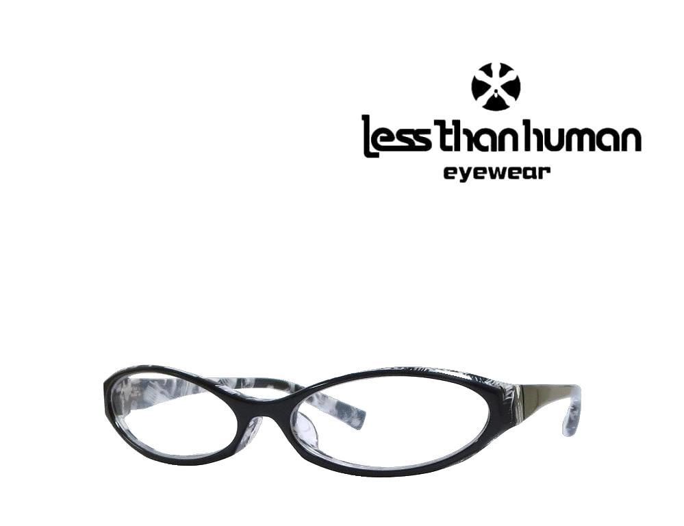 送料無料【LESS THAN HUMAN】 レスザンヒューマン  メガネフレーム 72megu  195  ブラック  《数量限定特価品》