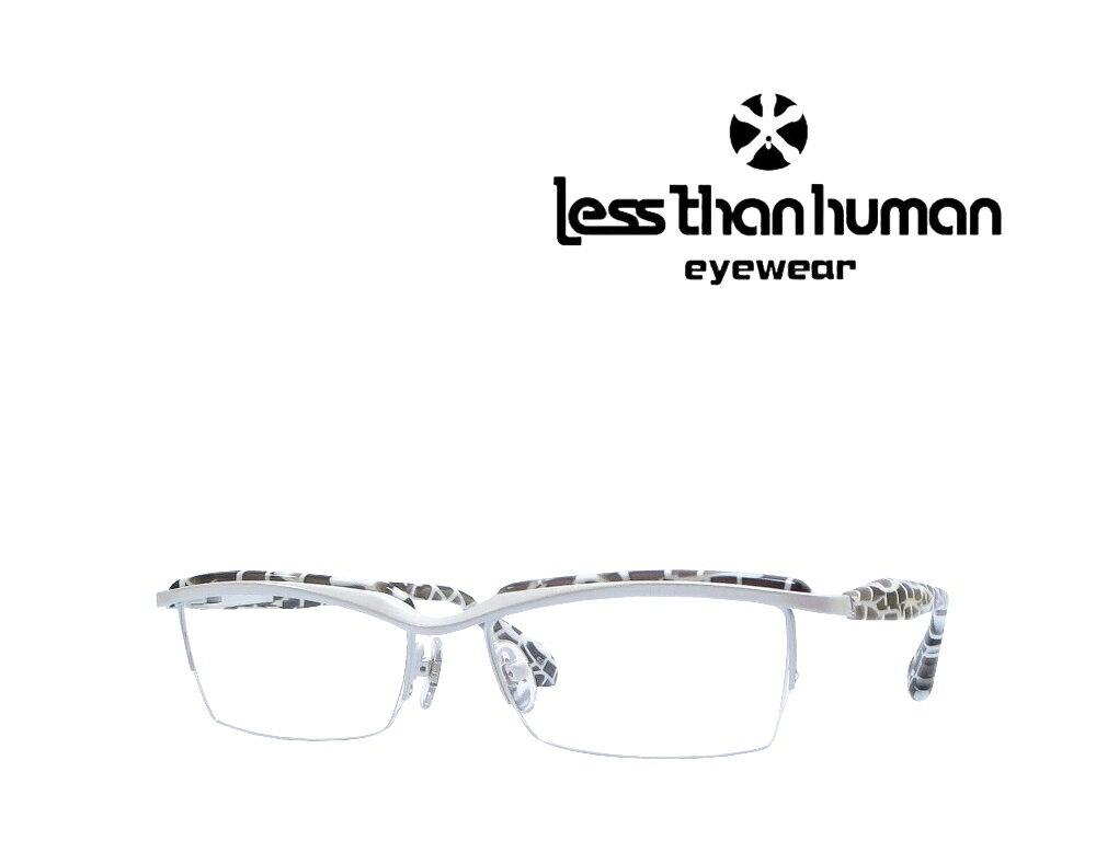 送料無料【LESS THAN HUMAN】 レスザンヒューマン  メガネフレーム INAZUMA  59  ホワイト