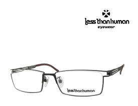 送料無料 【LESS THAN HUMAN】 レスザン ヒューマン   メガネフレーム   1391-n1109  9525   マットレッドブラウン