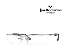 送料無料 【LESS THAN HUMAN】レスザン ヒューマン メガネフレーム Andrei.C  1010Special ハゲタカモデル シルバー