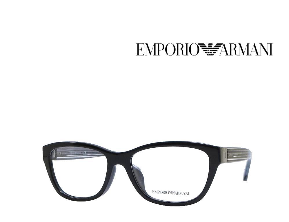 送料無料【EMPORIO ARMANI】エンポリオ アルマーニ メガネフレーム EA3084F   5017  ブラック  国内正規品 《数量限定特価品》