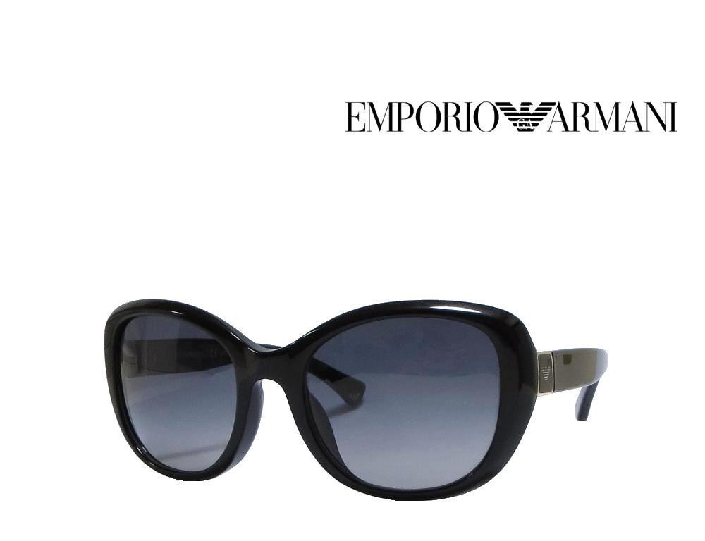 送料無料【EMPORIO ARMANI】 エンポリオ アルマーニ  サングラス   偏光レンズ  ブラック  EA4052F  5017/T3 国内正規品 《数量限定特価品》