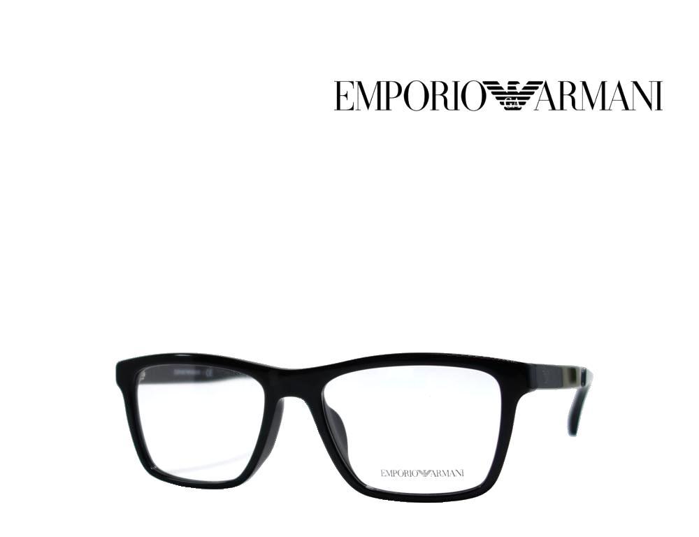 送料無料【EMPORIO ARMANI】エンポリオ アルマーニ メガネフレーム EA3138F  5017  ブラック  国内正規品