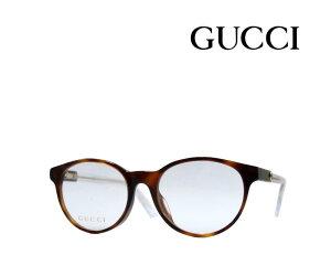 【GUCCI】 グッチ メガネフレーム GG0487OJ 003 ハバナ/クリア アジアンフィット 国内正規品