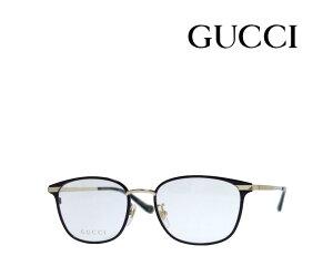 【GUCCI】 グッチ メガネフレーム GG0864OA 001 ブラック・ゴールド 国内正規品 《数量限定特価品》