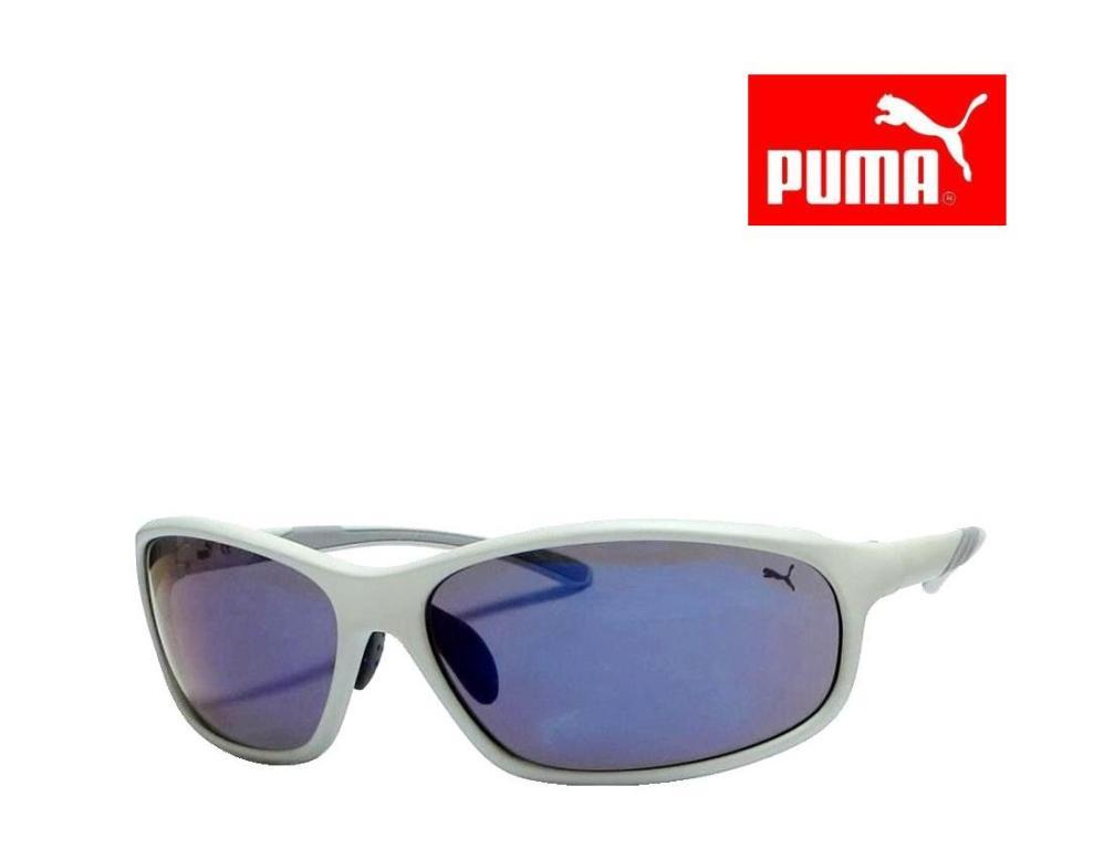 送料無料【PUMA】プーマ サングラス PU16021E  GR  マットオフホワイト 限定特価品  国内正規品【RCP】