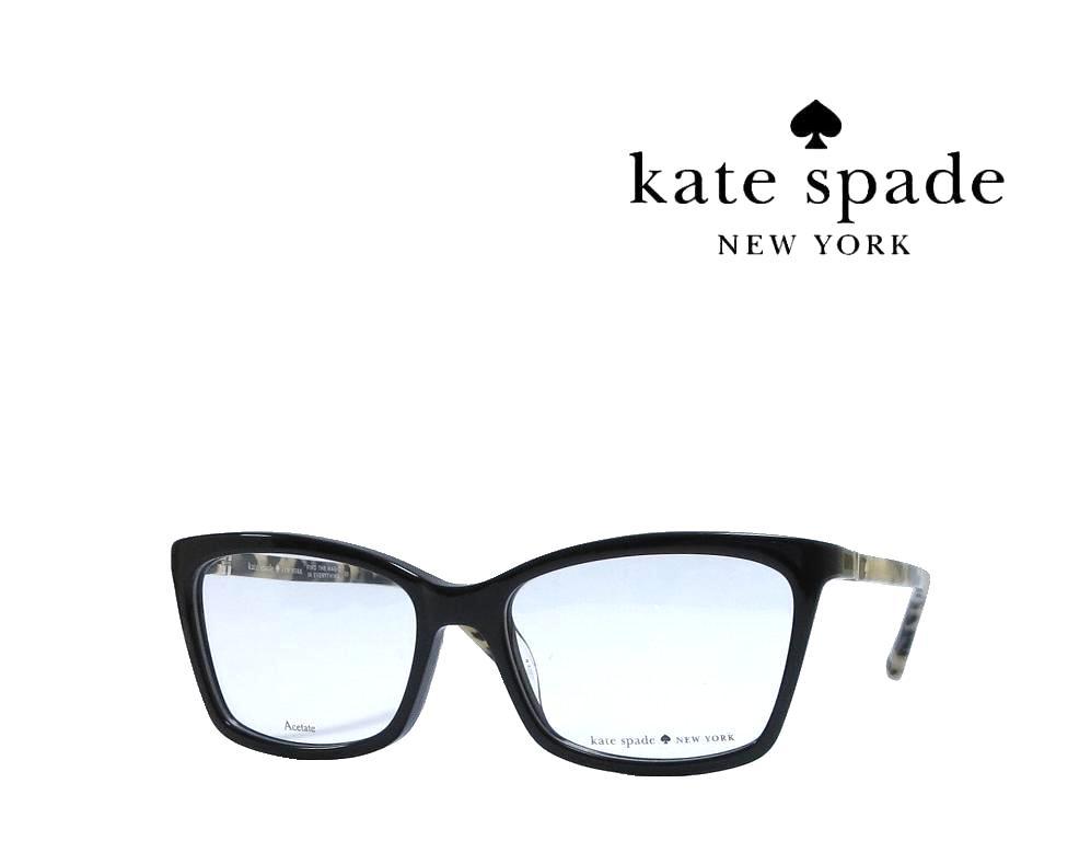 【Kate spade】 ケイトスペード メガネフレーム  CORTINA  7KI  ブラック  国内正規品