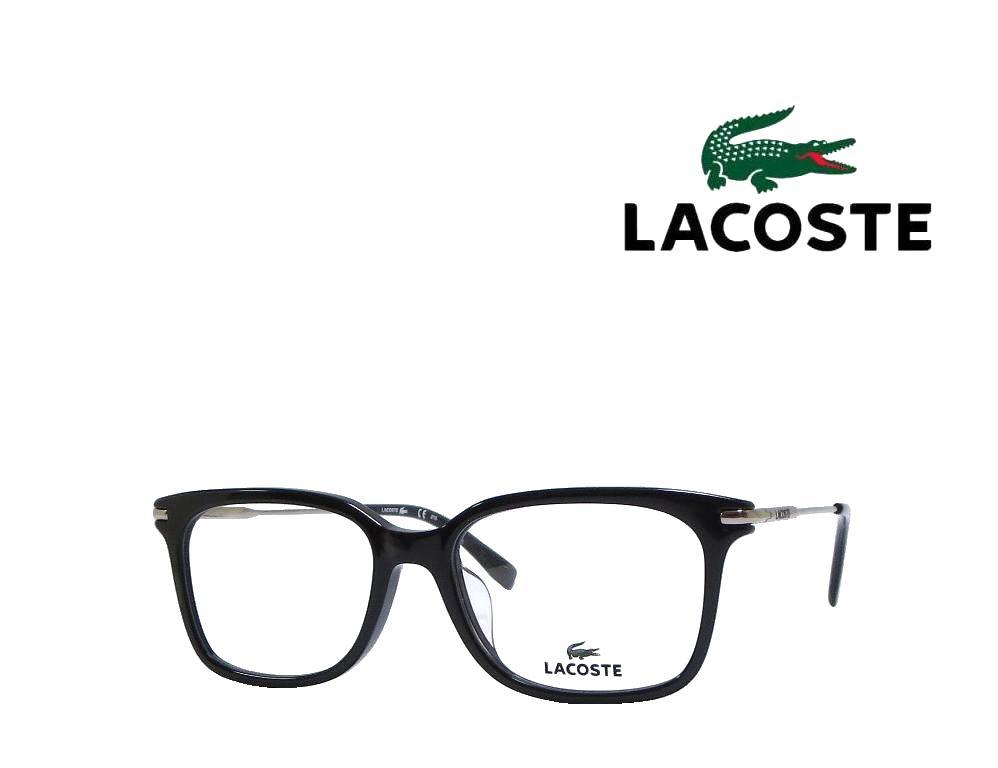 送料無料【LACOSTE】 ラコステ メガネフレーム   L2755A   001   ブラック  国内正規品 《数量限定特価品》