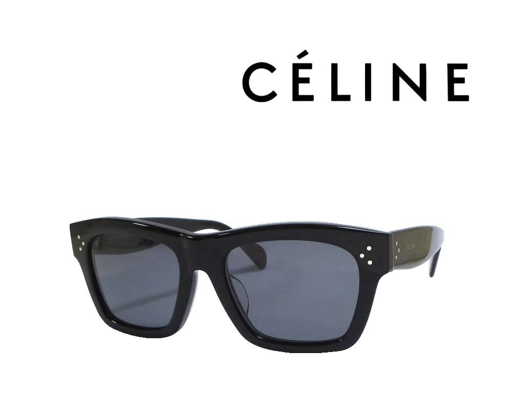 【CELINE】 セリーヌ サングラス CL41071/F/S 807  ブラック  偏光レンズ アジアンフィット  国内正規品