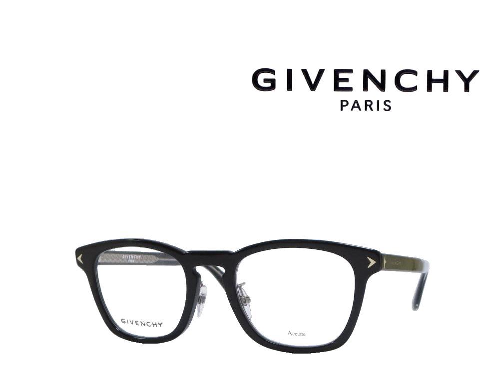 【GIVENCHY】 ジバンシィ メガネフレーム  GV0056/F  807  ブラック  国内正規品