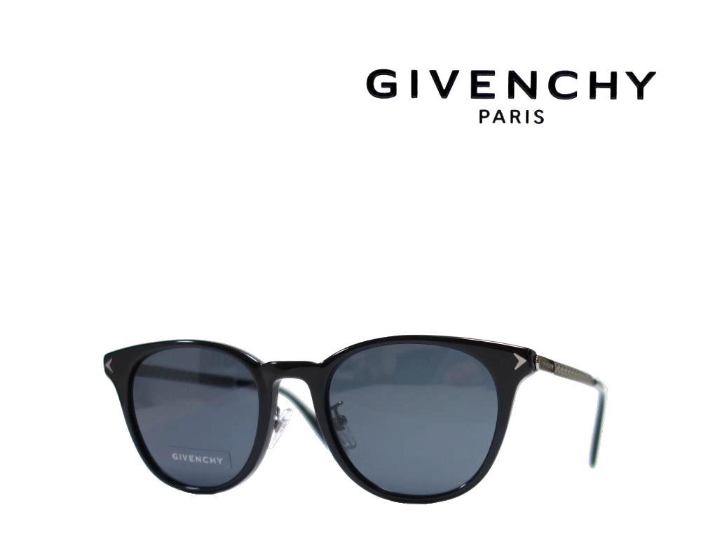 【GIVENCHY】 ジバンシィ サングラス  GV7101/F/S 807  ブラック/ガンメタル  国内正規品