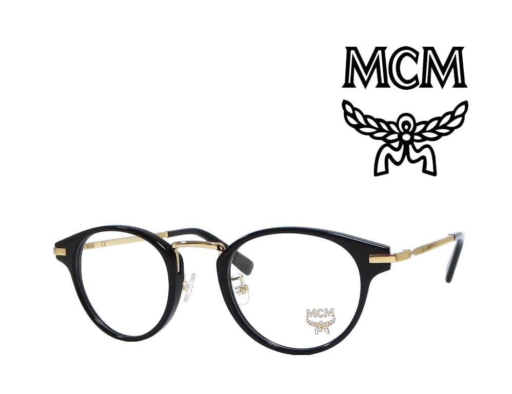 【MCM】 エムシーエム メガネフレーム  MCM2610A  001  ブラック/ゴールド 国内正規品 《人気モデル》