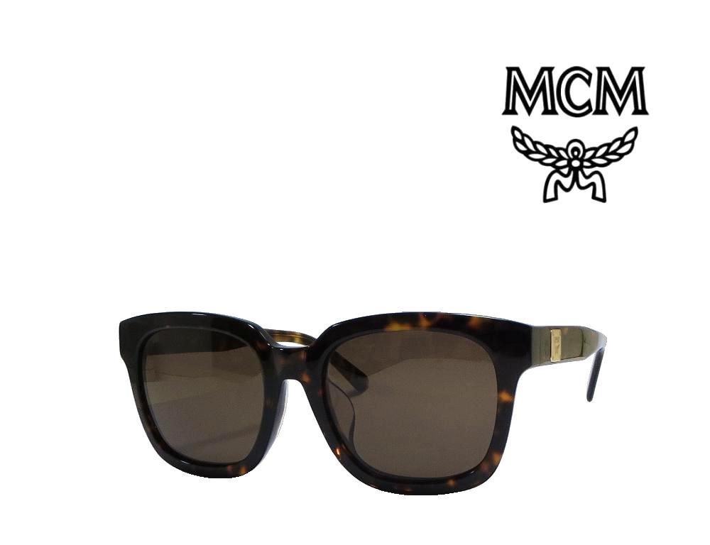 【MCM】 エムシーエム サングラス  MCM610SA  214   ハバナ  国内正規品 《数量限定特価品》
