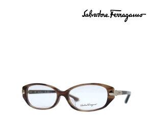 【Salvatore Ferragamo】 サルヴァトーレ フェラガモ メガネフレーム SF2740A 216 ブラウンデミ アジアンフィット 国内正規品 《数量限定特価品》