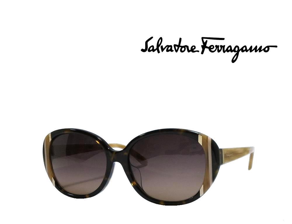 【Salvatore Ferragamo】 サルヴァトーレ フェラガモ サングラス SF842SA 214 ハバナ アジアンフィット 国内正規品