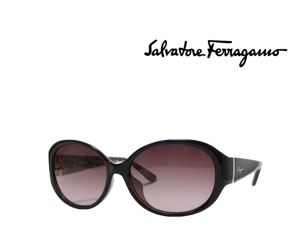 【Salvatore Ferragamo】サルヴァトーレ フェラガモ サングラス SF683SA 220  パールダークブラウン  アジアンフィット 国内正規品