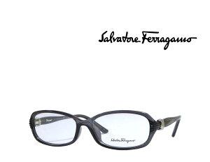【Salvatore Ferragamo】サルヴァトーレ フェラガモ メガネフレーム SF2678A   007 クリアグレー  国内正規品