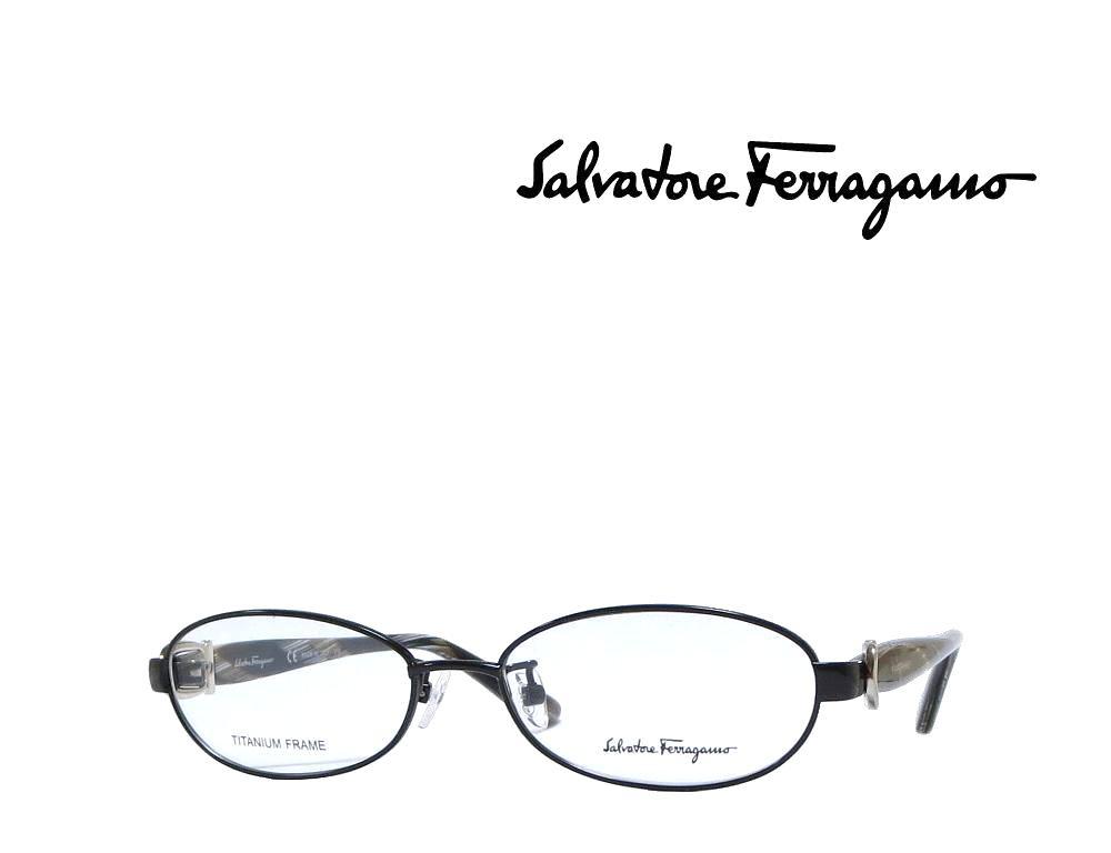 【Salvatore Ferragamo】サルヴァトーレ フェラガモ メガネフレーム SF2507A   001 シャイニーブラック  国内正規品  《数量限定特価品》