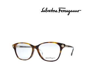 【Salvatore Ferragamo】サルヴァトーレ フェラガモ メガネフレーム SF2830A   214 トータス  アジアンフィット 国内正規品