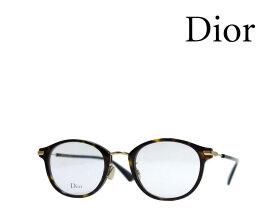 【Dior】 ディオール メガネフレーム DIOR ESSENCE21F 086 ハバナ・ゴールド 国内正規品 《数量限定特価品》