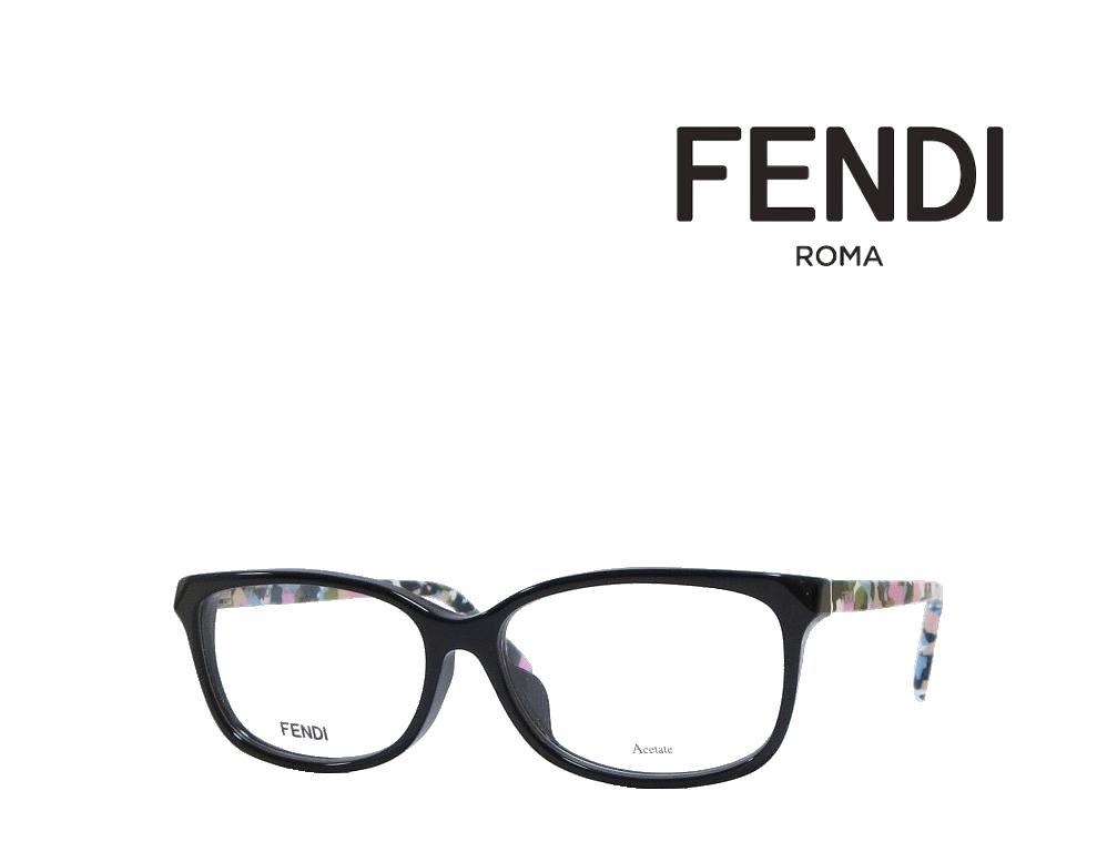 【FENDI】 フェンディ メガネフレーム FF0173/F TTY  ブラック 国内正規品