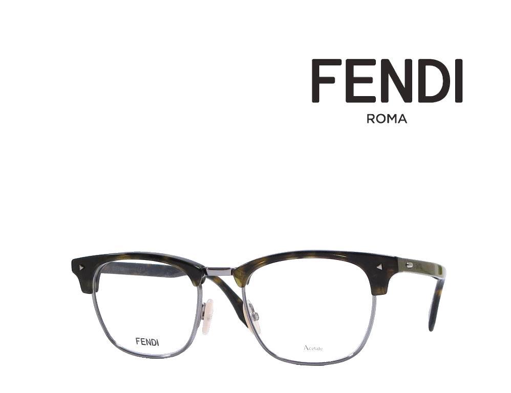 【FENDI】 フェンディ メガネフレーム FF M0006 086  ハバナ 国内正規品