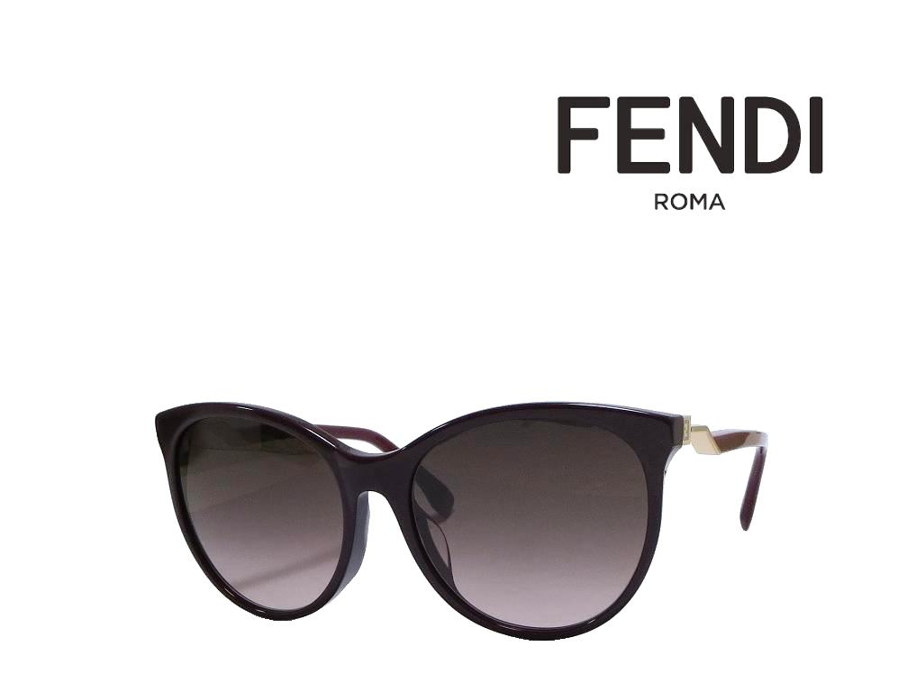 【FENDI】 フェンディ サングラス FF0209/F/S 58R  プラムバーガンディ 国内正規品