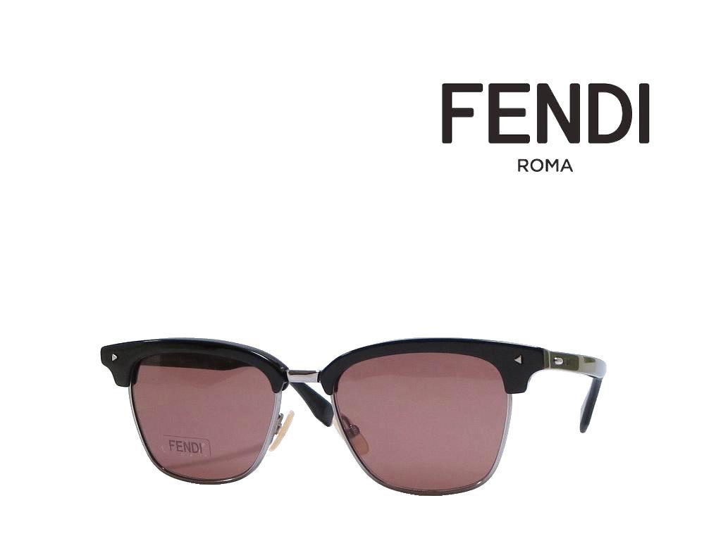 【FENDI】 フェンディ サングラス FF M0003/S 807  ブラック 国内正規品
