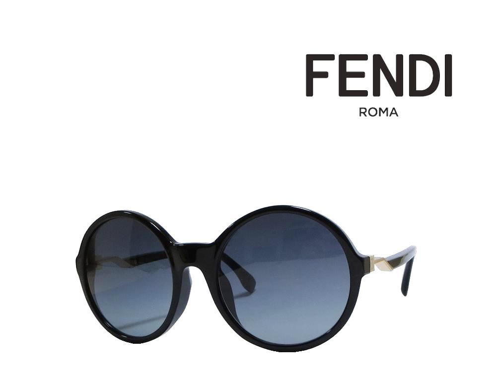 【FENDI】 フェンディ サングラス FF0207/F/S 807  ブラック 国内正規品