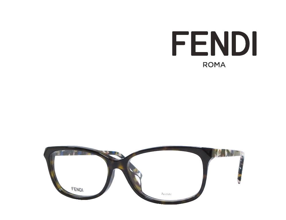 【FENDI】 フェンディ メガネフレーム FF0173/F TTO  ハバナ 国内正規品