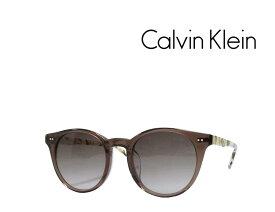 【Calvin Klein】 カルバンクライン サングラス CK4347SA 201 クリアブラウン アジアンフィット 国内正規品 《数量限定特価品》