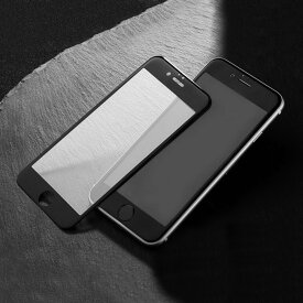 【HANATORA】 iPhone 8/8 Plus/iPhone 7/7Plus/iPhone 6S/6 iPhone6SPlus/6Plus 全面タイプ 3D 曲面ガラス ブラック/ホワイト 【SCREEN PROTECTOR´】
