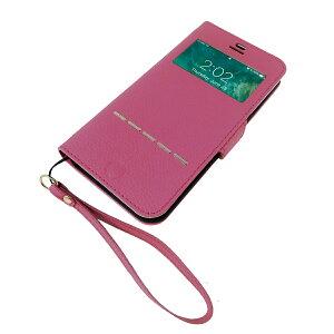 各種 iPhone 対応 Vision-Stand シュリンクエンボスド PUレザー 手帳型ケース 2種類の液晶保護フィルムキット付属 閉じたまま通話可能 スタンド機能 豊富な11色展開 【HANATORA】ブランド