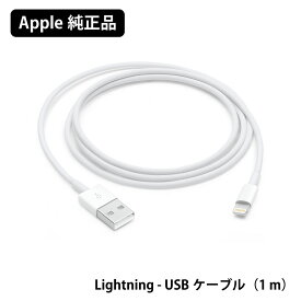 apple 純正 ライトニングケーブル 充電 通信 Lightning - USBケーブル (1m) iPhone iPad ケーブル 同期 1m 100cm 本体標準同梱品 MFi 認証品 純正品 バルク品