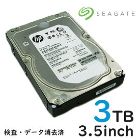 中古 SAS サーバー用 内蔵ハードディスク 3TB (3000GB)3.5インチ HDD テスト済み 7200RPM Seagate Constellation ES ST33000650SS データ消去済 宅配便配送商品 代金引換不可