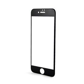 【HANATORA】 iPhone 8/8 Plus/iPhone 7/7Plus/iPhone 6S/6 iPhone6SPlus/6Plus専用 Plaid カーボンフレーム 液晶保護ガラス