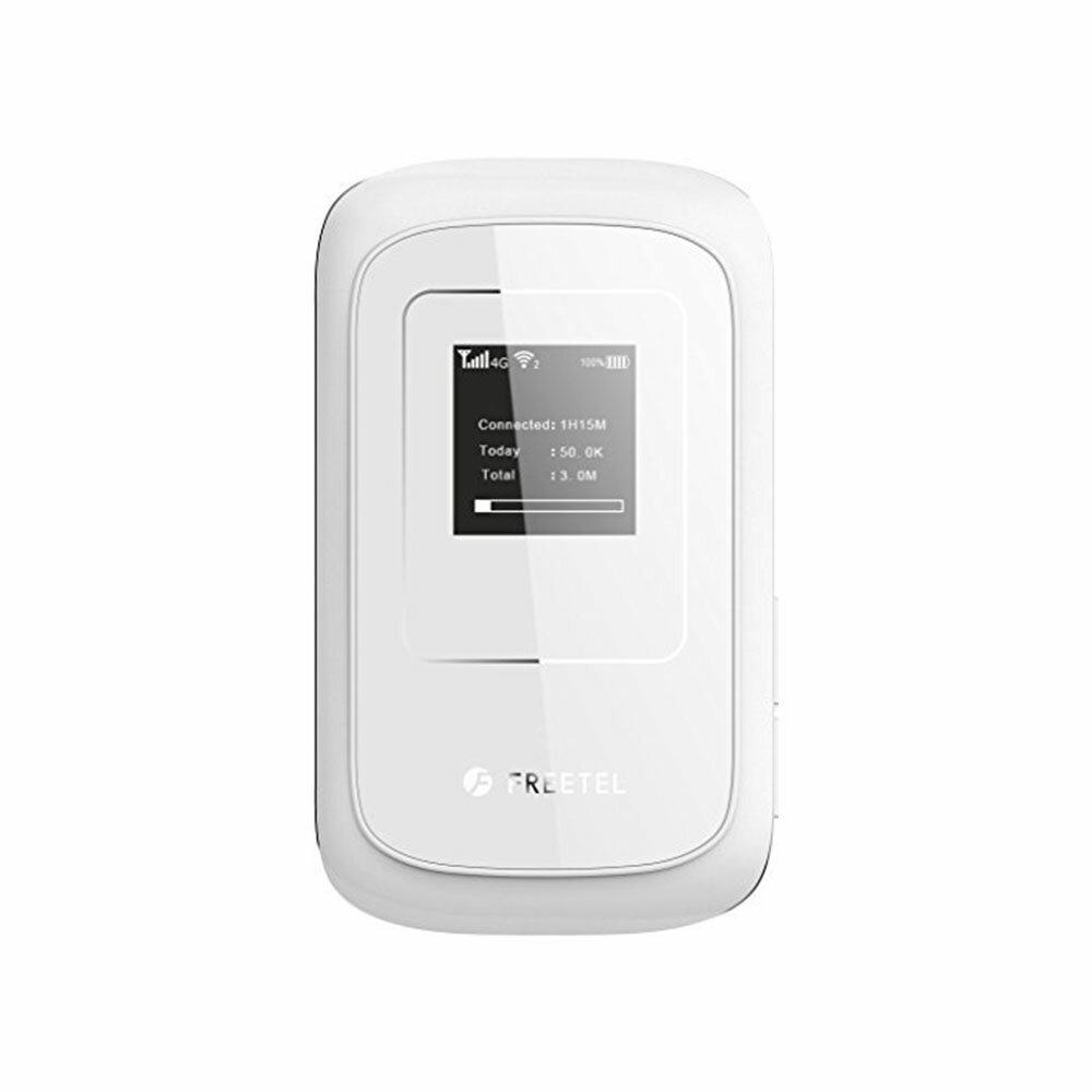【新品・未使用品】FREETEL Wi-Fi モバイル ルーター ARIA 2 (FTJ162A-ARIA2-w) 本体 simフリー ポケットwifi ホワイト フリーテル 送料無料