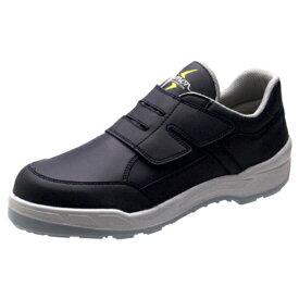 静電 安全靴 Simon シモン 小さいサイズ 22cm 22.5cm 8818N 紺静電靴 セーフティ 送料無料 女性用サイズ