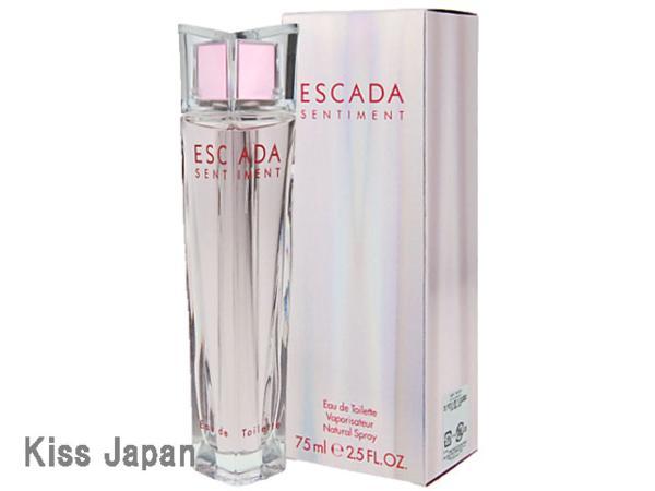 エスカーダ ESCADA センティメント 75ml EDT SP 【香水】【あす楽対応商品】【コンビニ受取対応商品】