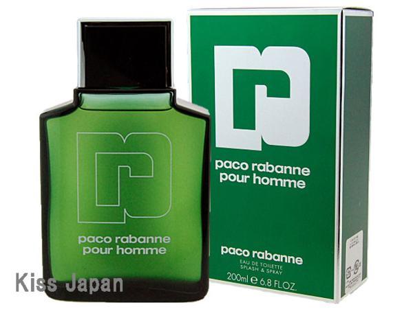 パコラバンヌ PACO RABANNE パコラバンヌ プールオム 200ml EDT SP 【香水】【あす楽対応商品】【コンビニ受取対応商品】