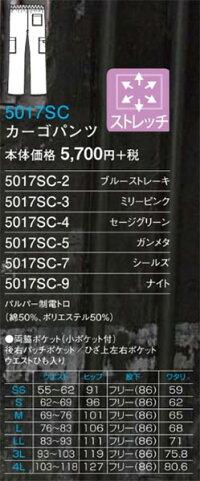 ディッキーズ5017SCカーゴパンツ