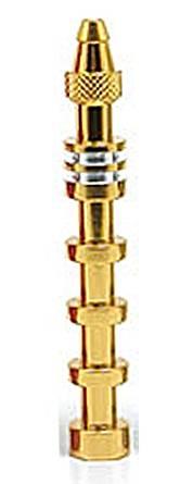 【ネコポス対応品】 スクエア プロポ用ダミーアンテナ3PKS/2.4GHz用ゴールド #TRX-21FG