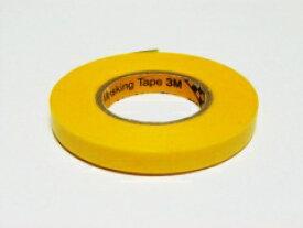 【送料無料】TOP LINE 3M マスキングテープ 6mm 幅×18m #BM-006