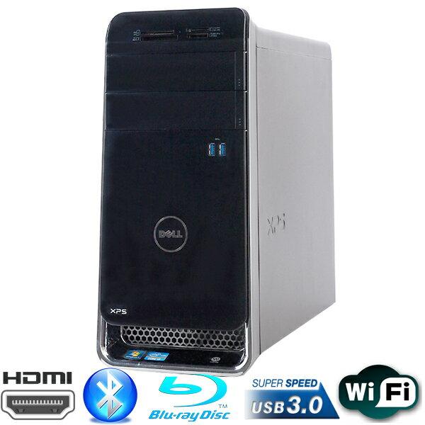 店長一押し!【ゲーミングPC!☆第3世代Core i7搭載!AMD Radeon HD7700シリーズ搭載☆ 】DELL製 XPS 8500 Corei7 3770-3.4GHz メモリ16GB SSD180GB➕HDD2TB BD-ROM WLAN内蔵 Windows10 Home 64bit【HDMI,USB3.0,Bluetooth】【中古】