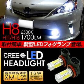 プリウスα40系 LED フォグランプ H8/H11/H16 LEDフォグバルブ 超高性能 LEDライト ZVW40 前期 / 後期電装パーツ 【202012ss】